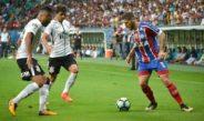 Bahia vence o líder Corinthians por 2 a 0