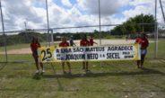 Prefeito Joaquim Neto participa de abertura do 25º Campeonato da Liga São Mateus