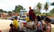 Jipeiros fazem a alegria das crianças de Alagoinhas, Pedrão e Aramari