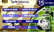 Com apoio da Prefeitura, Campeonato da Liga São Matheus tem início no próximo domingo (15)