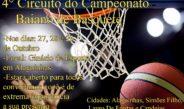 Com apoio da SECET, Alagoinhas recebe 4º Zonal do Campeonato Baiano de Basquete