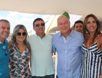 Paulo Azi comemora aniversário com mais de mil pessoas