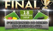 Final do 5º Campeonato de Futebol de Riacho da Guia será realizada no próximo domingo (18)