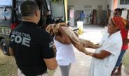 Polícia Civil leva alegria para lar de idosos no município de Dias D'Ávila