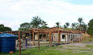 Obras do Centro de Canoagem de Itacaré seguem em ritmo acelerado