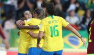 Seleção Feminina goleia Venezuela e se classifica antecipadamente para fase final da Copa América